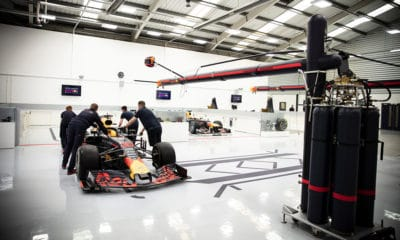 Red Bull Racing fabryka 2020