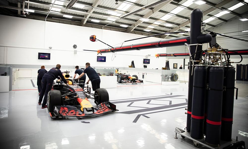 Red Bull Racing fabryka 2020