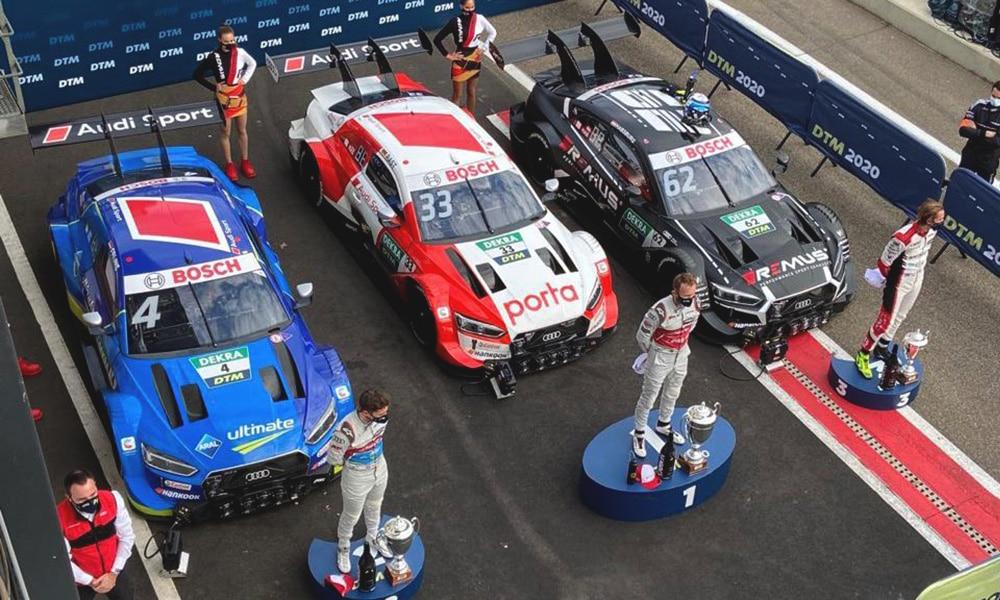 René Rast Audi Sport Zodler 3 2020 DTM