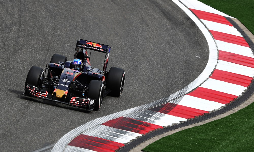 Max Verstappen Toro Rosso China 2016