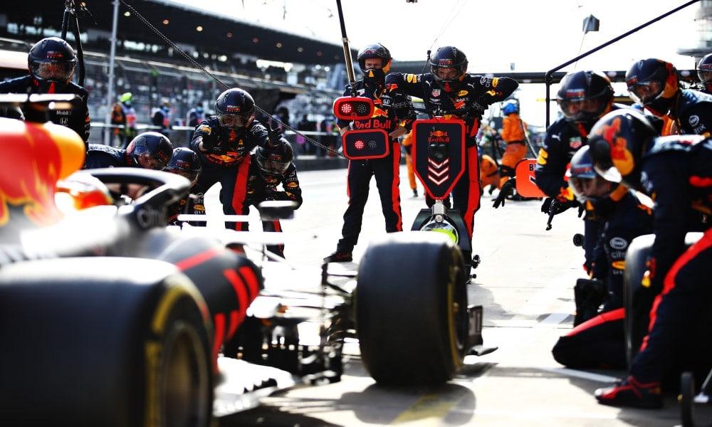 Red Bull Pit Stop Eifel GP 2020