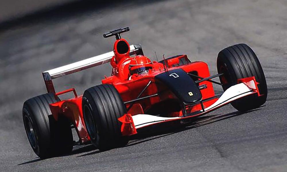 Schumacher 2001 Monza