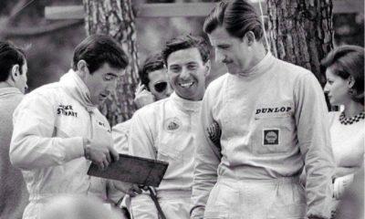 Stewart Rindt Hill przed Nürburgring 1970