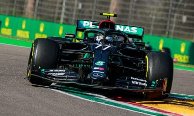 Valtteri Bottas GP Emilii-Romanii F1 2020 Imola Mercedes kwalifikacje