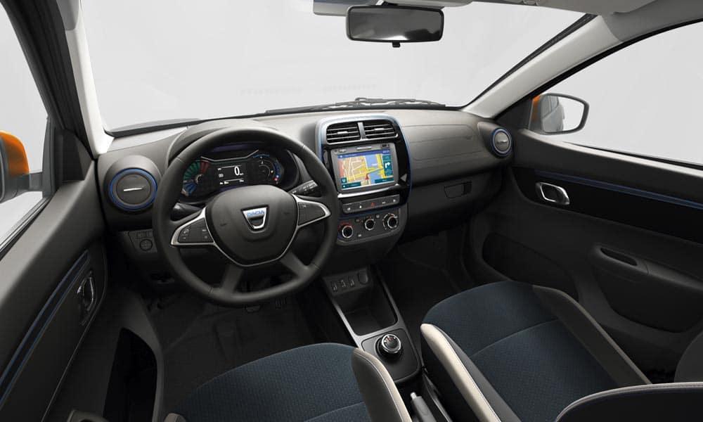 Dacia Spring Electric wnętrze