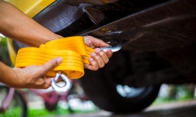 jak holować auto