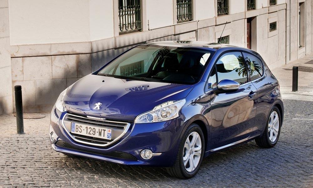 używane samochody do miasta Peugeot 208 2013