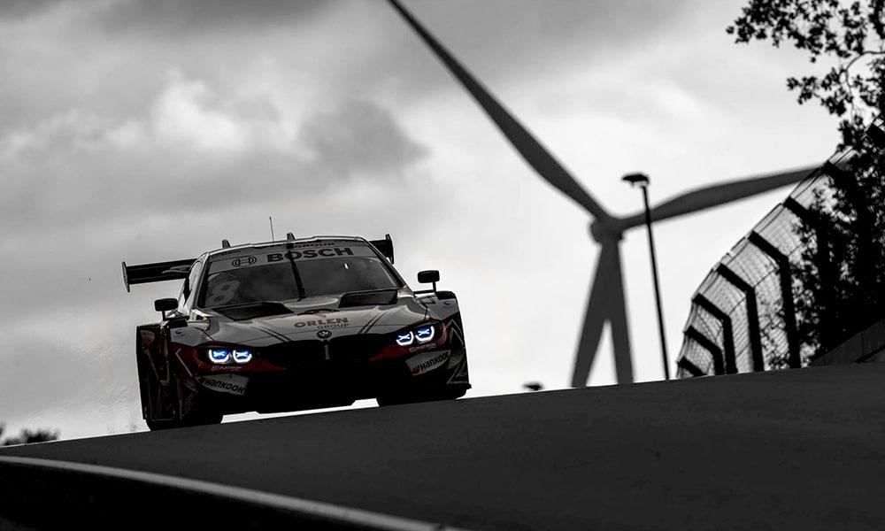 podium Kubicy Zolder 4 DTM 2020