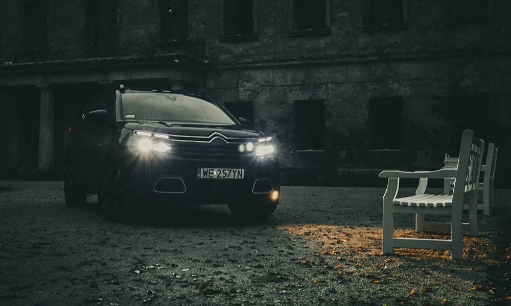 przód Citroëna C5