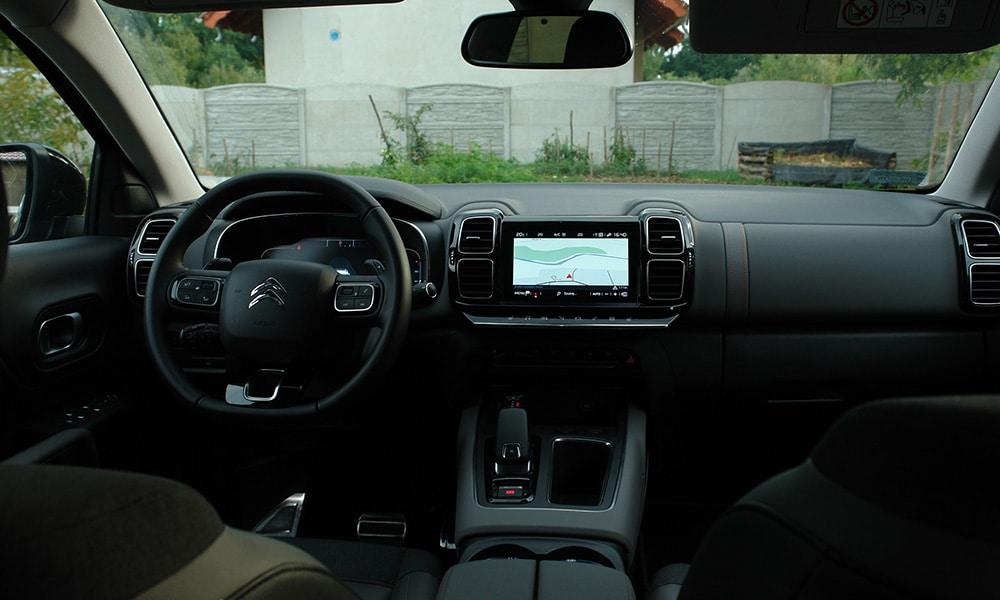 wnętrze 2 Citroën C5 Aircross