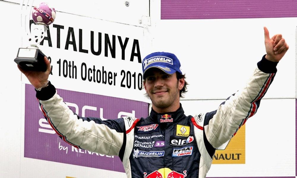 Jean Eric Vergne Formula Renault 3.5 2010