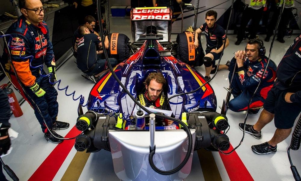 Jean Eric Vergne 2014 Toro Rosso