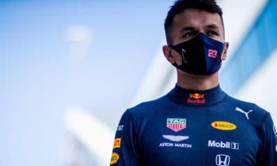Alexander Albon Red Bull 2020
