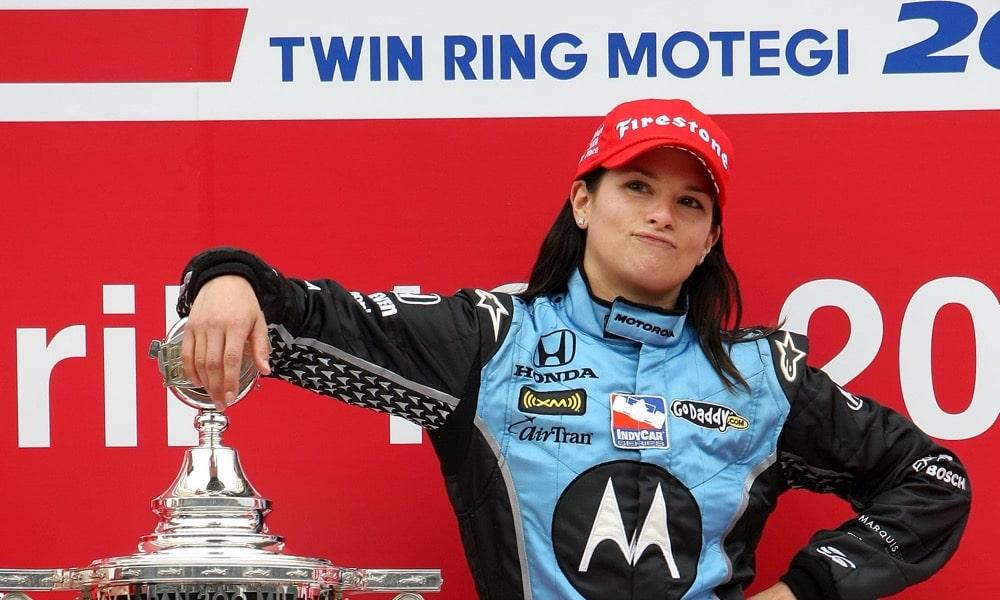 Danica Patrick Honda IndyCar Twin Motegi