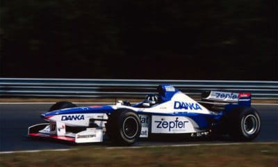 Damon Hill Arrows Yamaha w F1 1997 GP Węgier Twitter