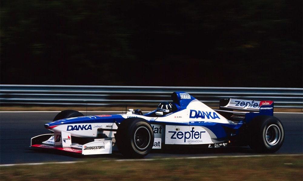 Damon Hill Arrows Yamaha w F1 1997 GP Węgier Twitter