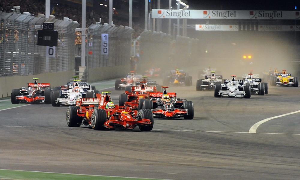 Grand Prix Singapuru 2008 F1