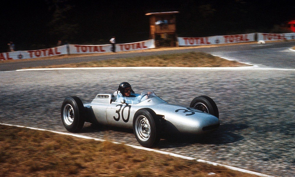Gurney Porsche w F1 jedyne zwyciestwo GP Francji 1962