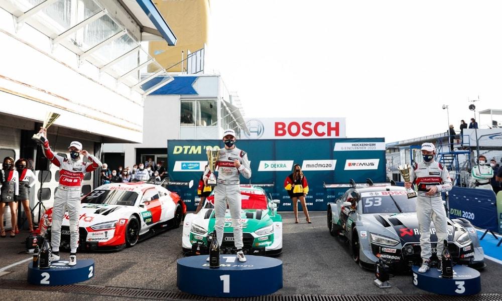 Muller Rast Green dtm 2020 podium