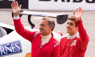 Jean Alesi i Giuliano Alesi 2018 Ferrari Day