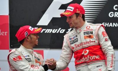 Button w Ferrari? Jenson Button i Lewis Hamilton GP Chin 2010 McLaren
