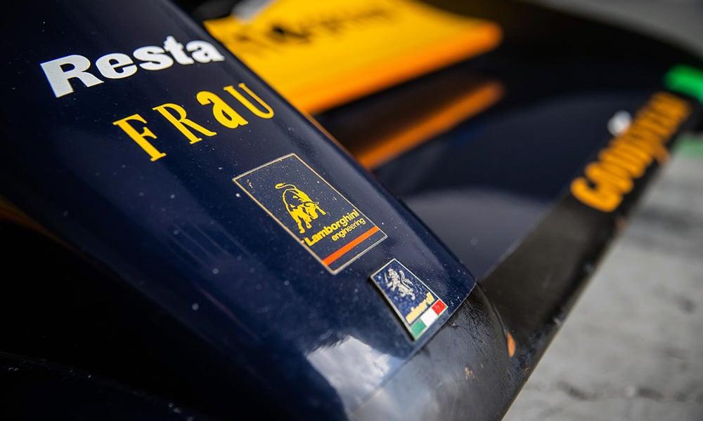 Lamborghini w F1 historia