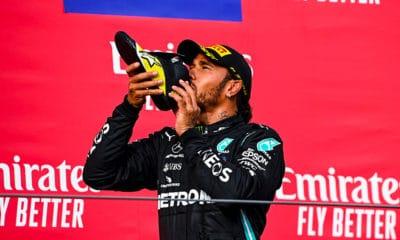 Lewis Hamilton Mercedes GP Emilii-Romanii 2020 Mercedes F1