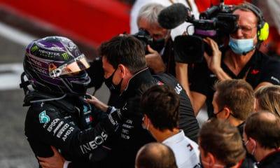 Lewis Hamilton po GP Emilii-Romanii 2020 Imola Mercedes