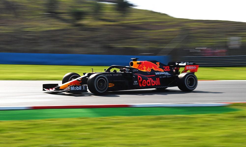 Max Verstappen najszybszy treningi GP Turcji 2020
