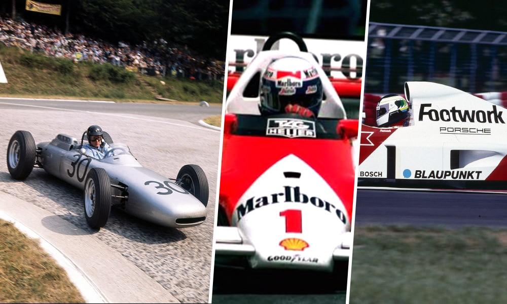 Porsche w F1 Historia startów