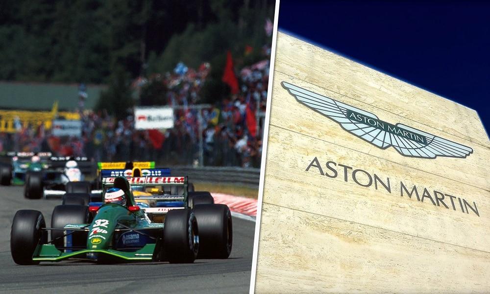 Przed laty Jordan GP teraz Aston Martin F1