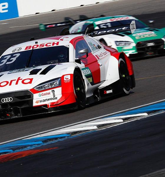 Rene Rast mistrz DTM 2020 triumf Hockenheim 2