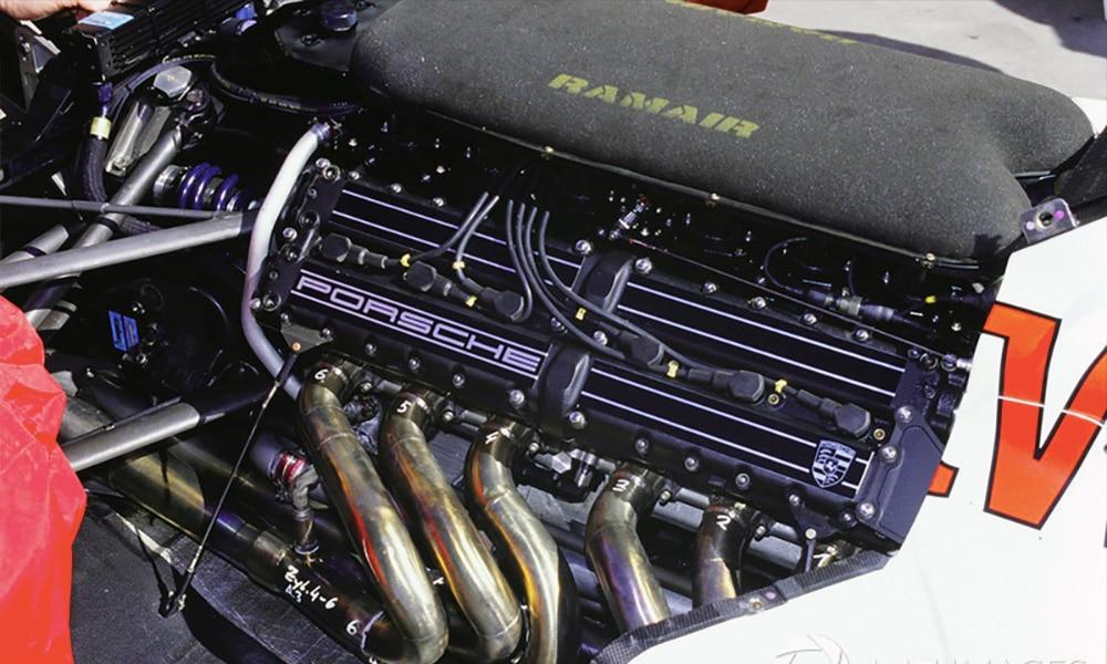 Silnik Porsche V12 Footwork