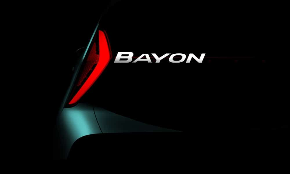 Hyundai Bayon - teaser