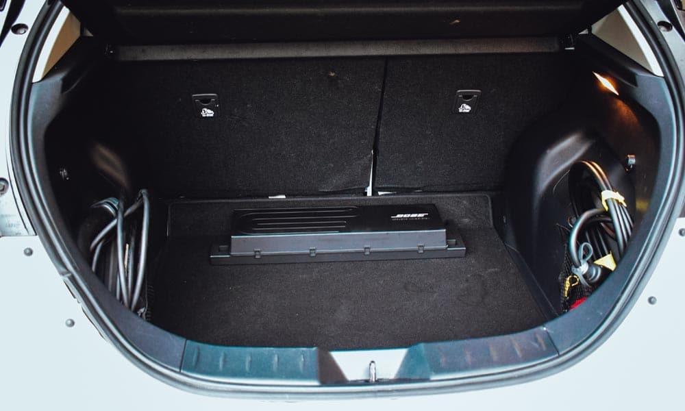 nissan leaf e+ 62 kWh bagażnik