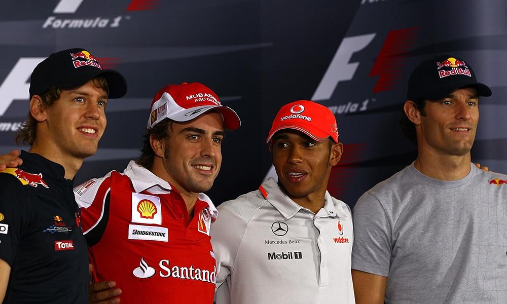 4 biło się o tytuł w finale 2010 f1