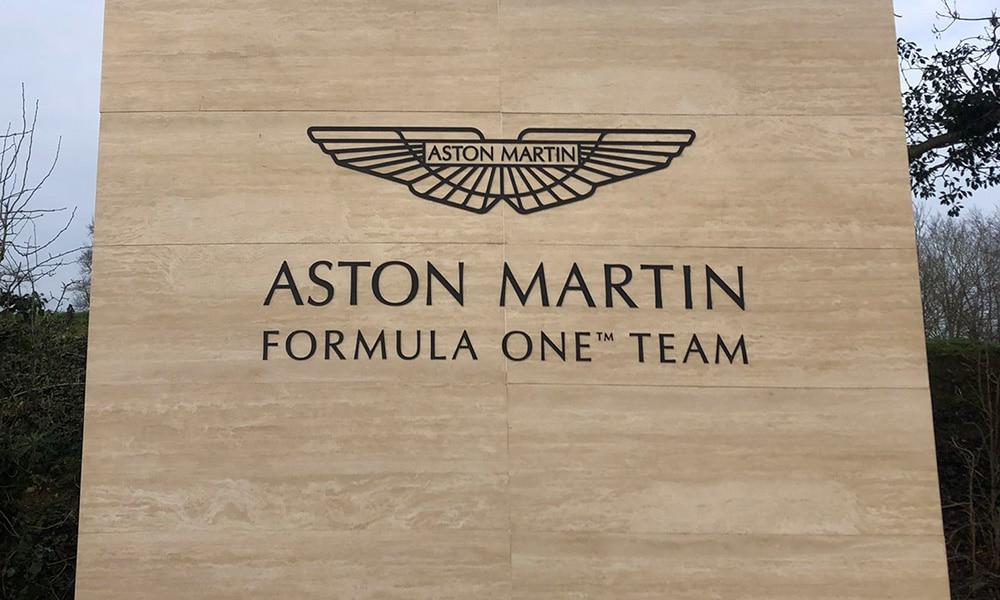 Aston Martin F1 Team 2020 logo