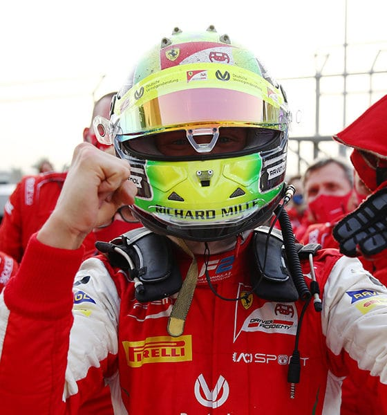Daruvala wygrał ostanti wyścig Schumacher mistrzem F2