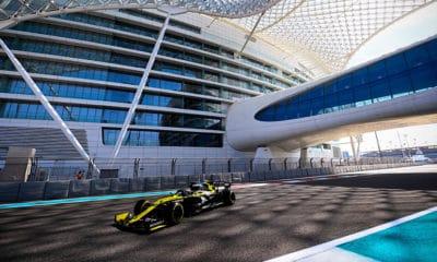 Fernando Alonso 2020 Abu Zabi F1 testy młodych kierowców
