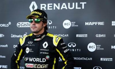 Fernando Alonso Renault F1 2020
