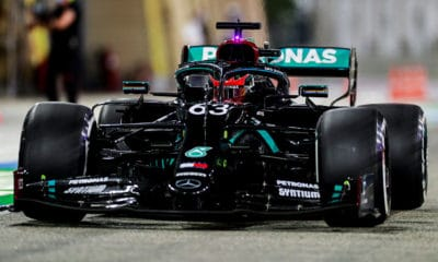 George Russell 2020 GP Sakhiru Mercedes