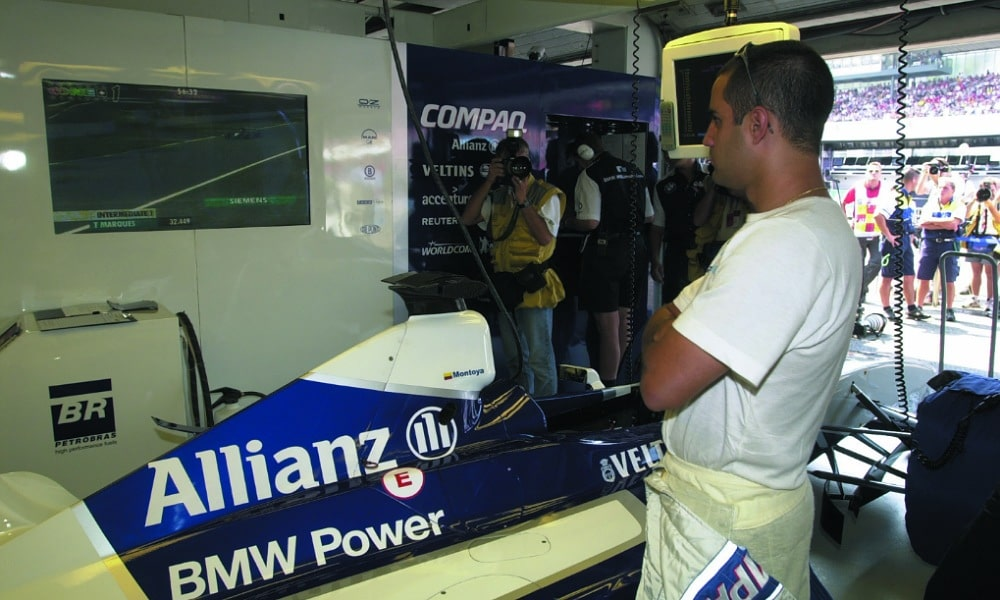 Juan Pablo Montoya 2001