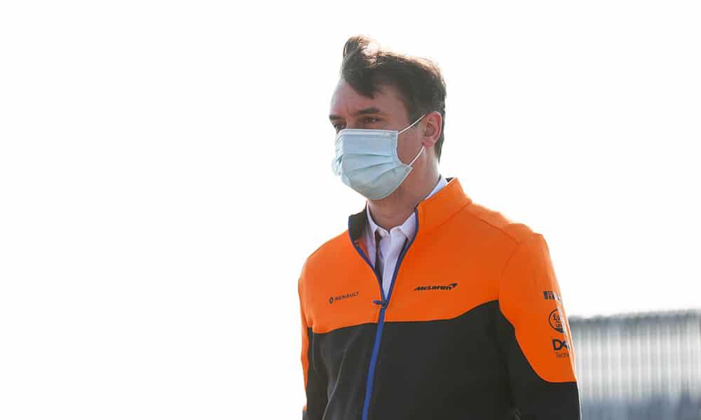 James Key McLaren dyrektor techniczny