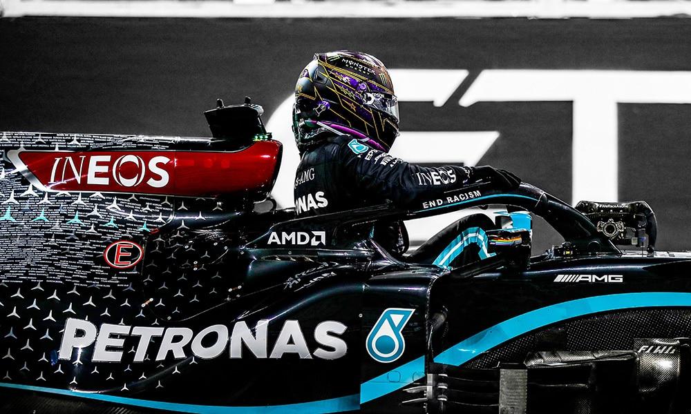 Lewis Hamilton Mercedes po GP Abu Zabi 2020