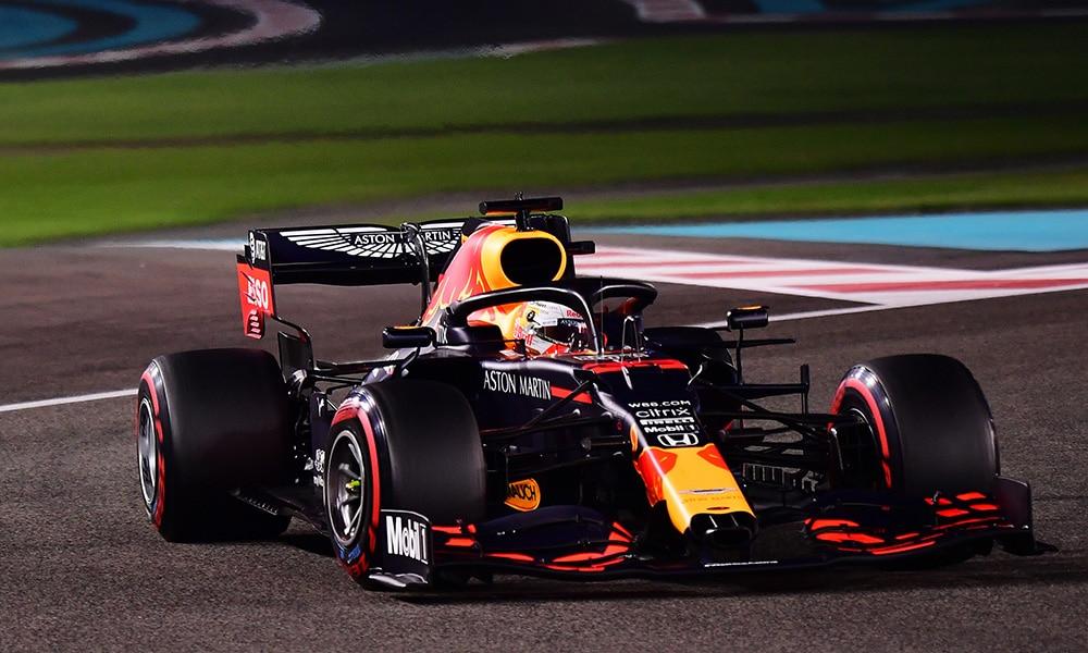 red bull Max Verstappen F1 GP Abu Zabi 2020 kwalifikacje PP