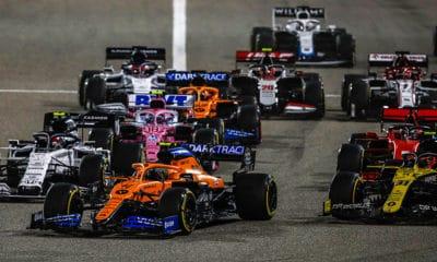 McLaren pokona Racing Point pewny Sainz
