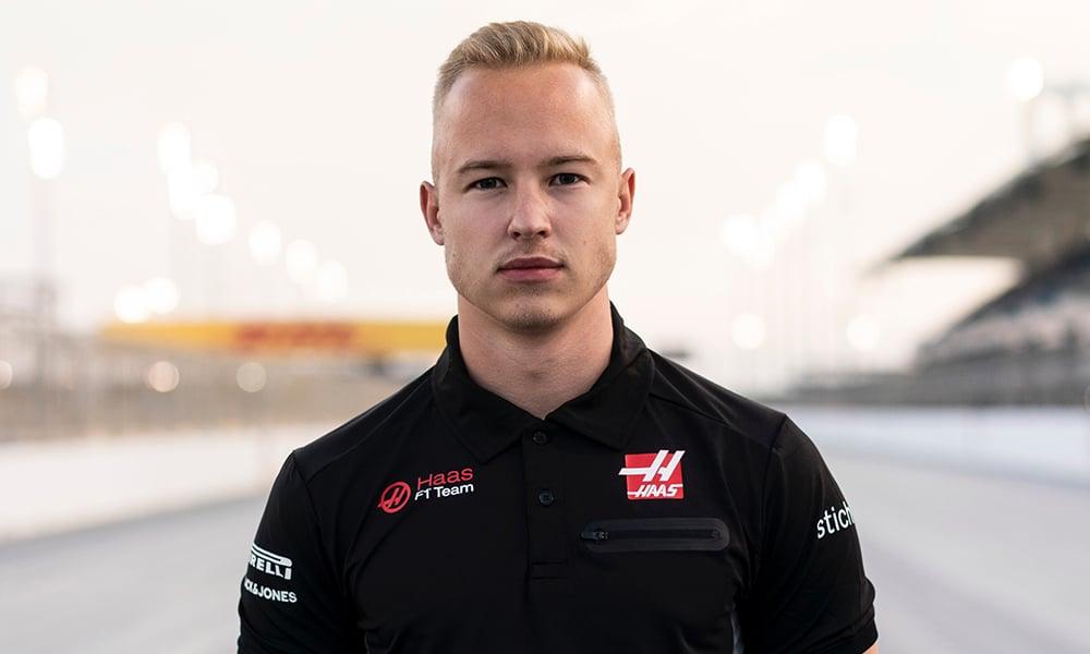 Nikita Mazepin kierowca Haasa 2021 F1