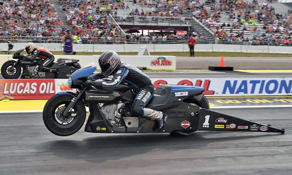 Pro Stock NHRA Motorcycle