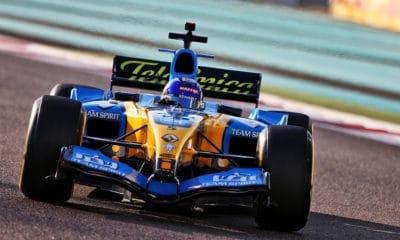 Renault R25 Yas Marina Fernando Alonso 2020