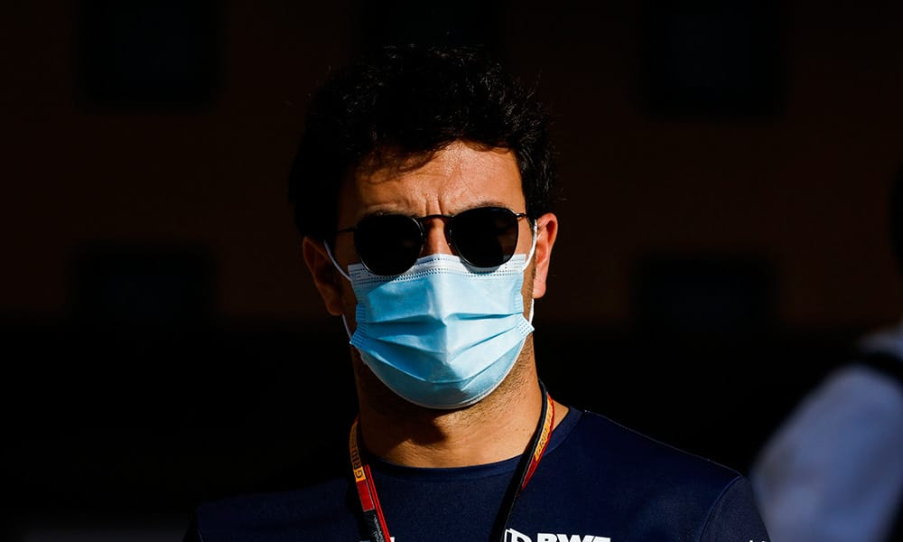 Sergio Perez 2020 Racing Point teraz w Red Bullu